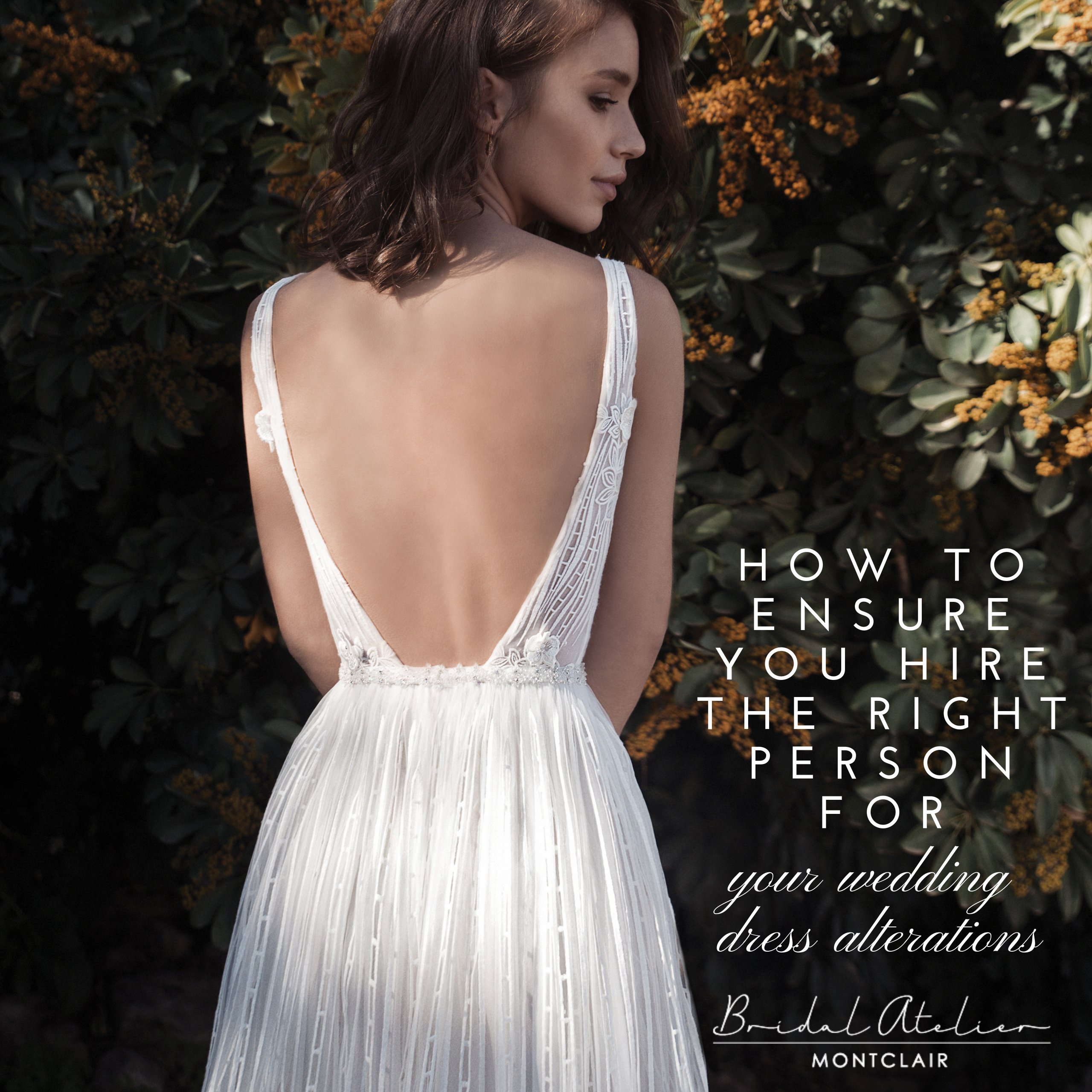 How to Ensure You Hire the Right Person for Your Wedding Dress Alterations. Desktop Image